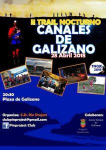 II Trail nocturno canales Galizano