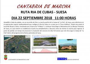 """V RUTA DEL PROGRAMA  """"CANTABRIA DE MARCHA"""" @ LA POLA (SUESA)"""
