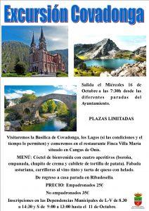 Excursión Covadonga